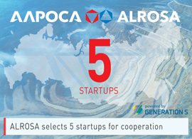 ALROSA selects 5 startups for cooperation