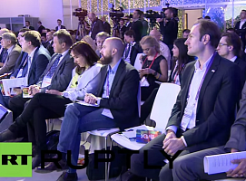 Russia Today: Experts of the GenerationS project show pure technologies of new generation