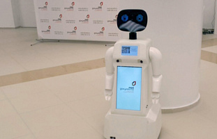 YAKUTIA.INFO: Robot Moby helps residents of Yakutsk with state services