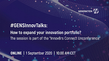 #GENSInnovTalk: How to expand your innovation portfolio